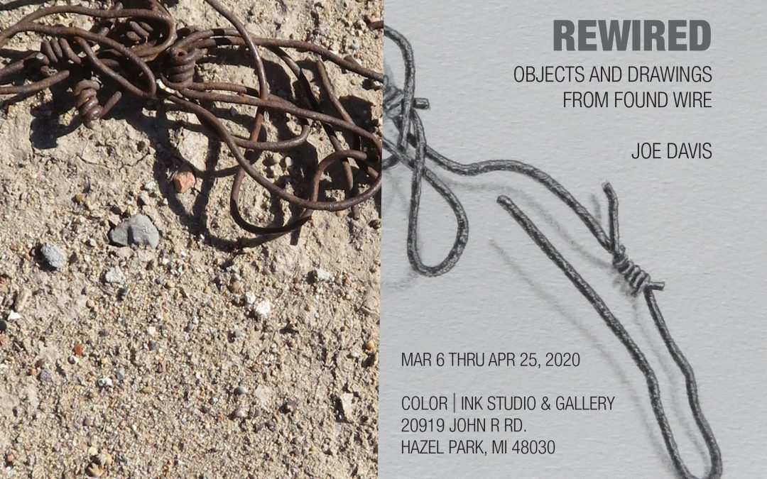 "Opening Reception: Joe Davis ""Rewired"""